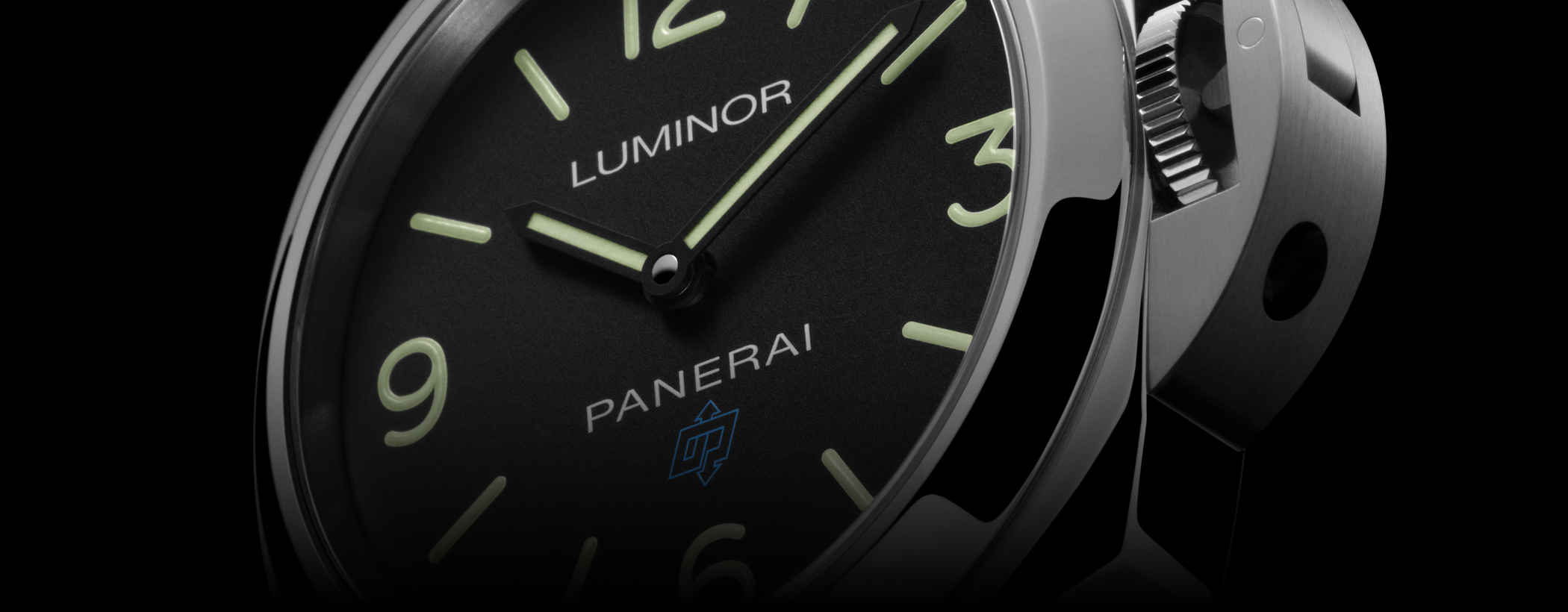 Panerai Luminor Base Logo PAM00774 Detailansicht Zifferblatt