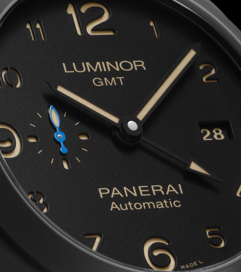 panerai-luminor-1950-3-days-gmt-pam-01441-zifferblatt