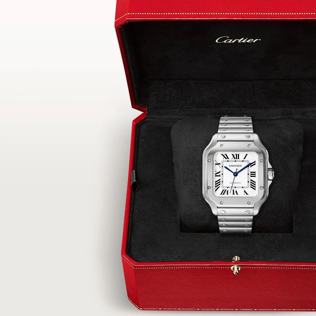Santos de Cartier in Verkaufsbox