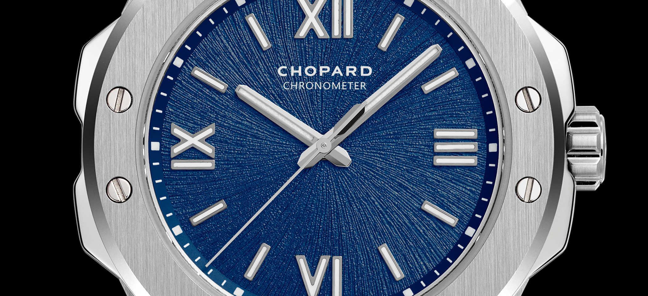 Chopard Alpine Eagle 298601-3001 Detailansicht Zifferblatt