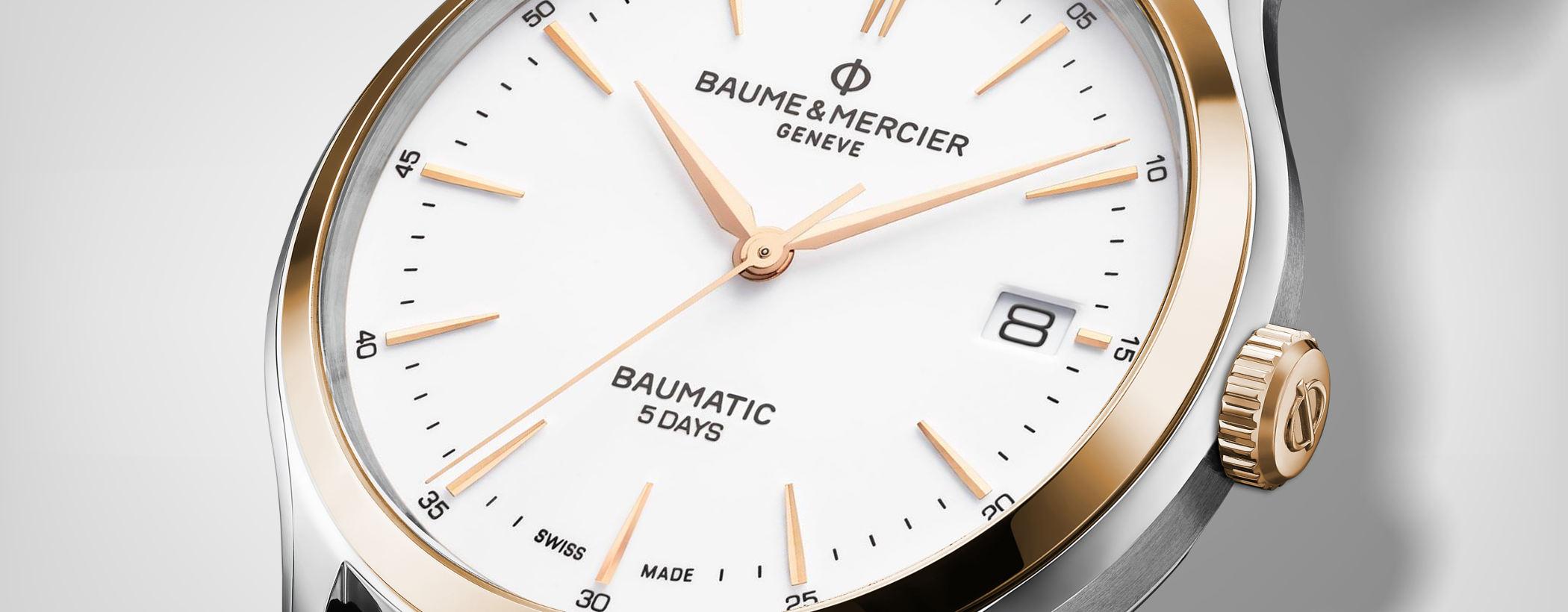 Baume & Mercier Clifton Baumatic Modell 10401
