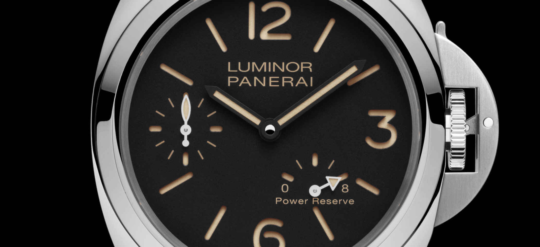 Panerai Luminor 8 Days PAM00795 Detailansicht Zifferblatt