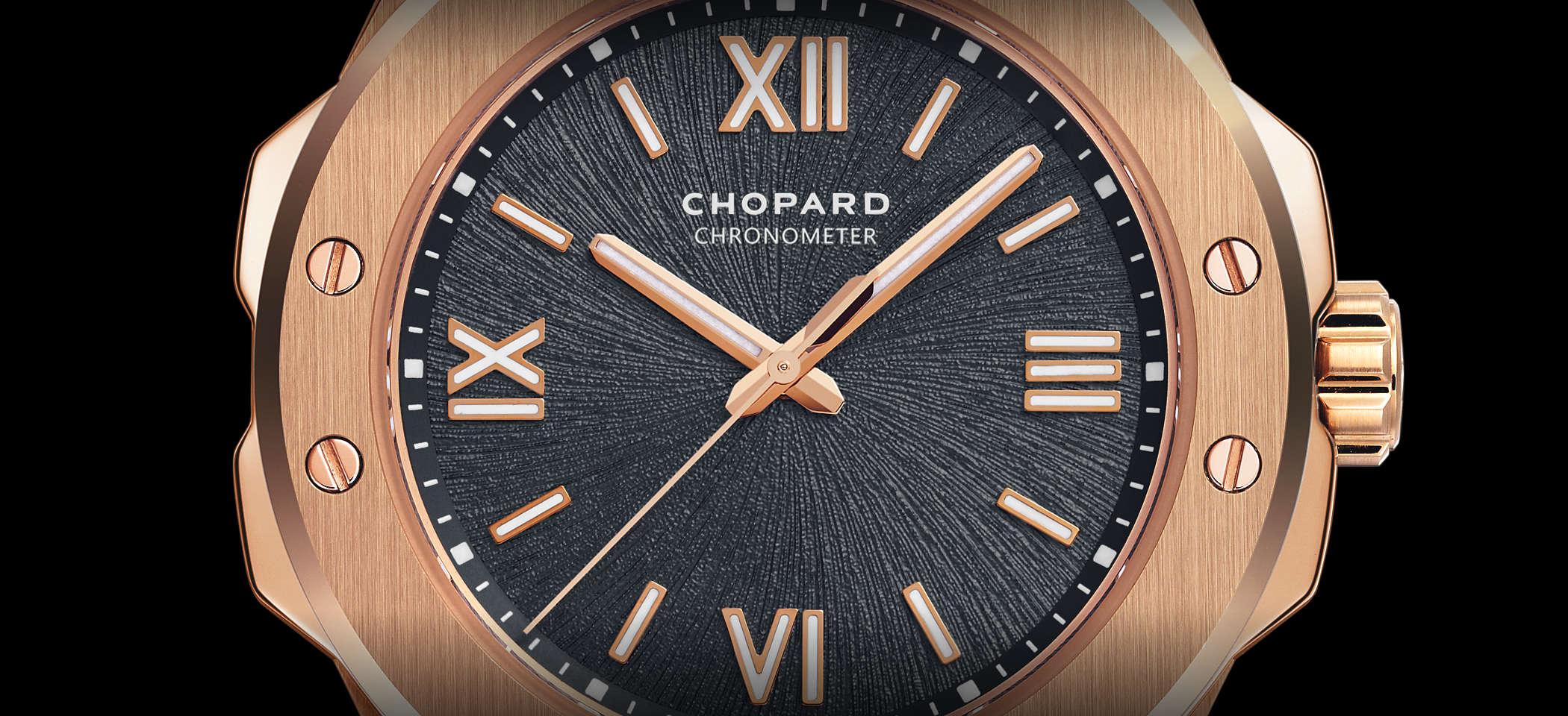 Chopard Alpine Eagle 295370-5001 Detailansicht Zifferblatt