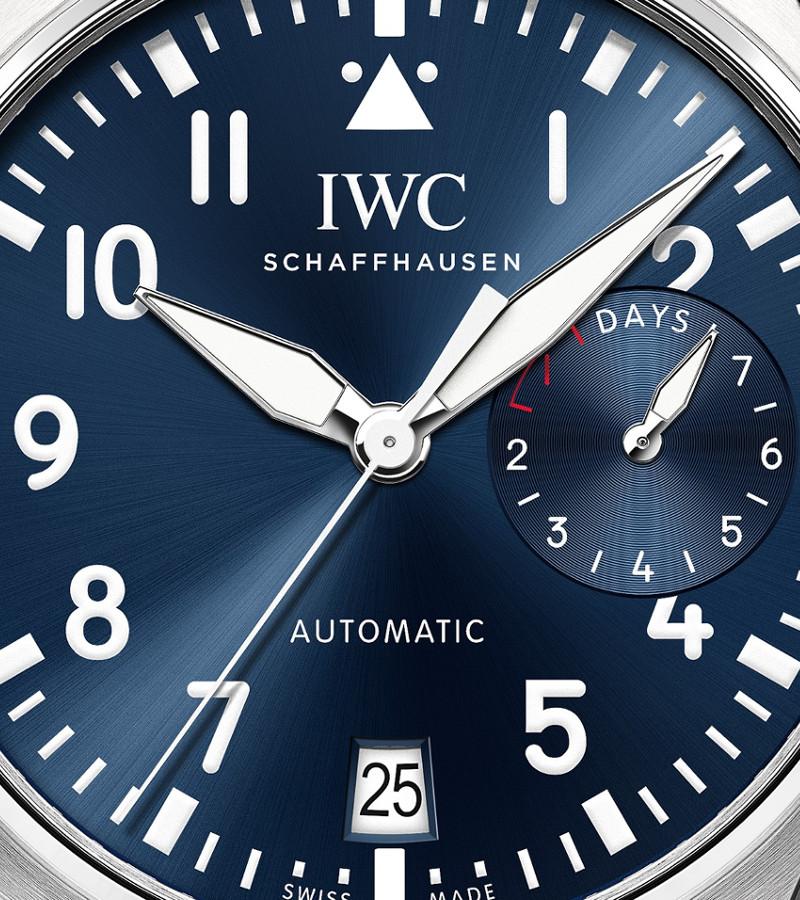 iwc-big-pilots-watch-le-petit-prince-iw501002-zifferblatt