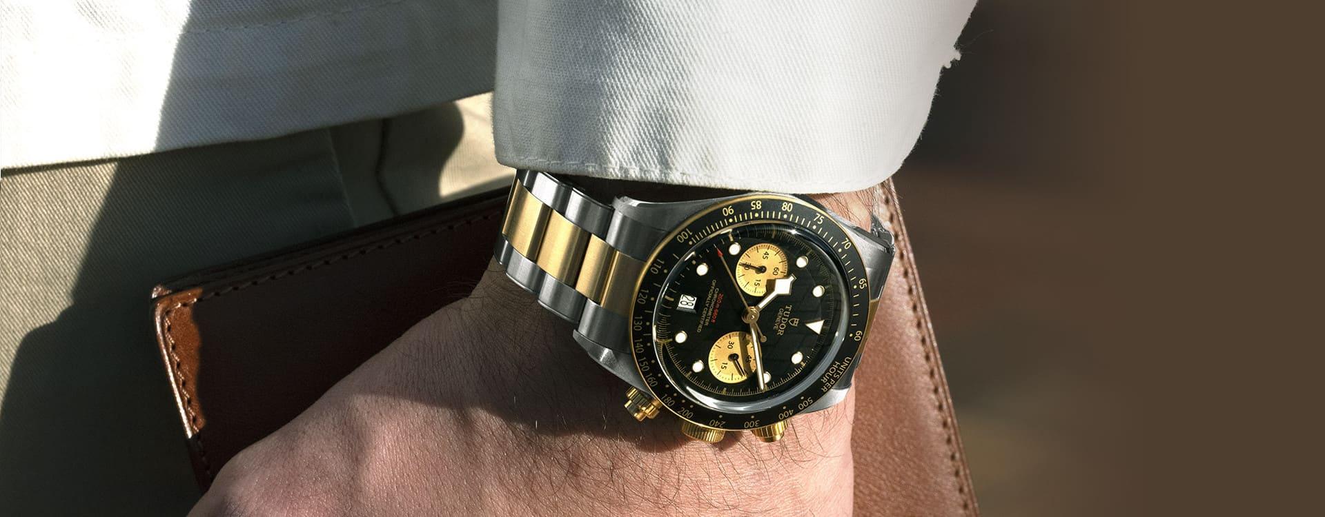 TUDOR Black Bay Chrono Uhren
