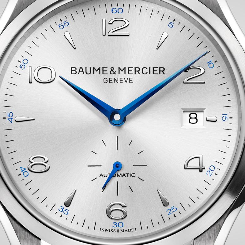 baume-mercier-clifton-kleine-sekunde-10052-zifferblatt
