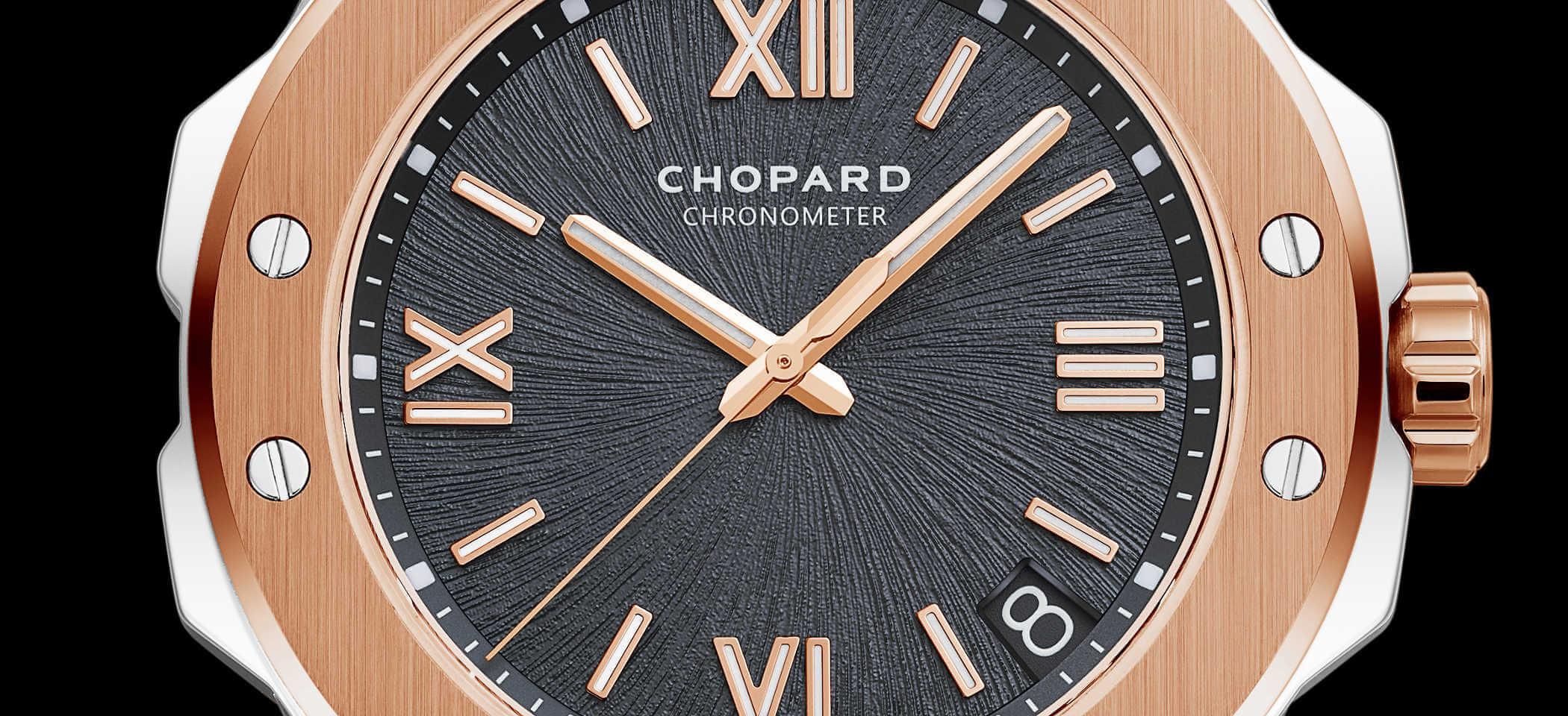 Chopard Alpine Eagle 298600-6001 Detailansicht Zifferblatt