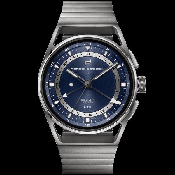 Porsche Design 1919 Globetimer UTC All Titanium & Blue 6023.4.05.002.01.5