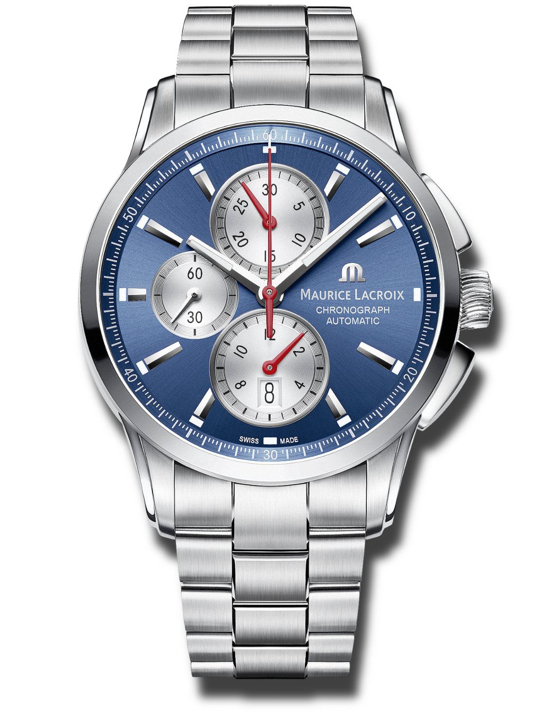 Modell Ss002 430 Lacroix Chronograph 1 Maurice Pt6388 Online Pontos W2DIY9EH