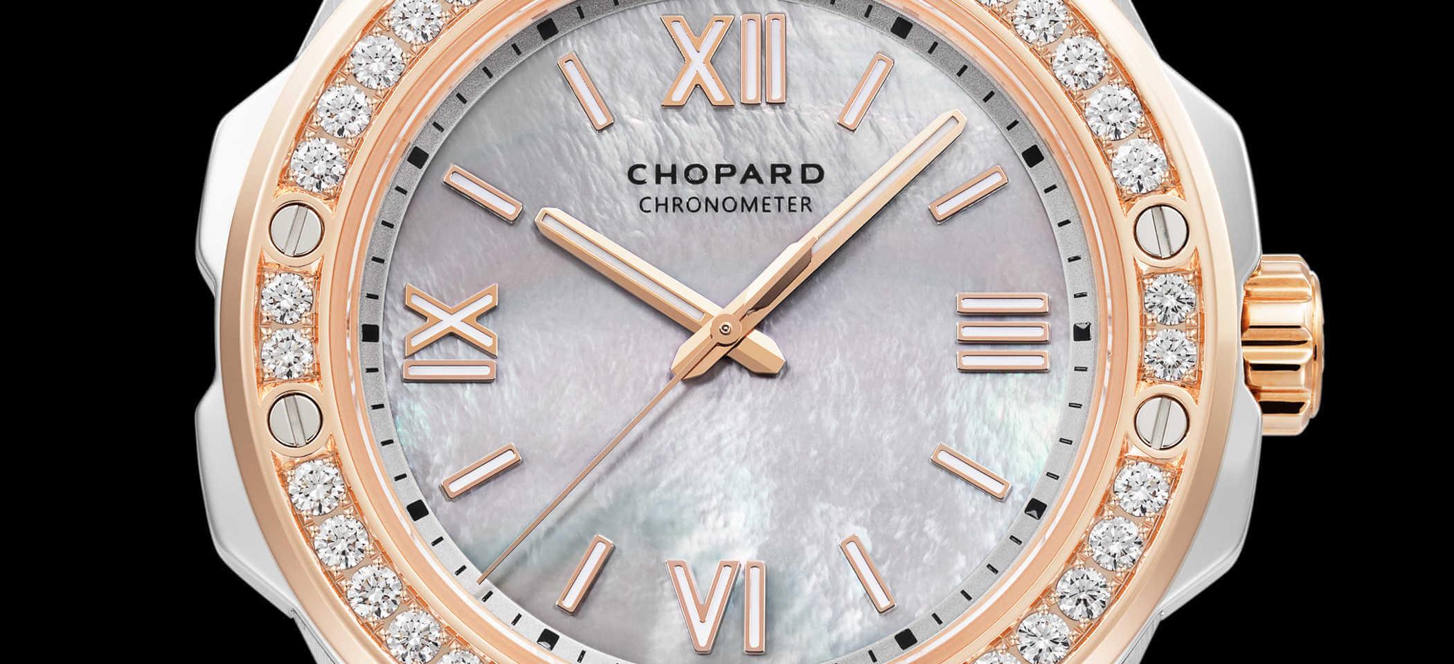 Chopard Alpine Eagle 298601-6002 Detailansicht Zifferblatt
