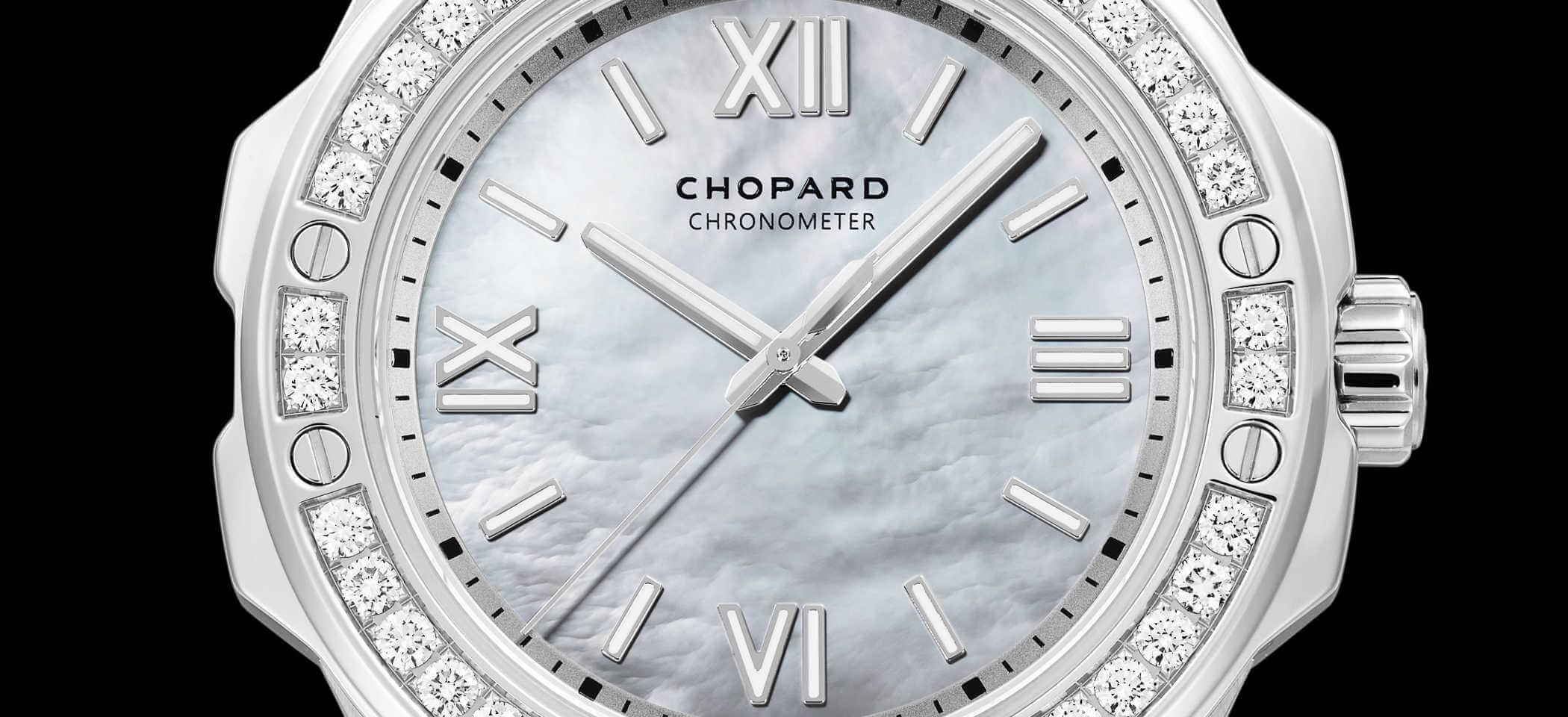 Chopard Alpine Eagle 298601-3002 Detailansicht Zifferblatt