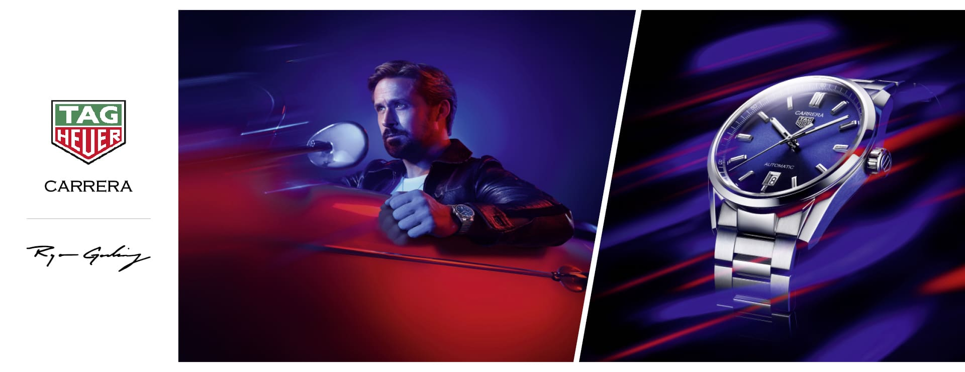 TAG Heuer Carrera meets Ryan Gosling